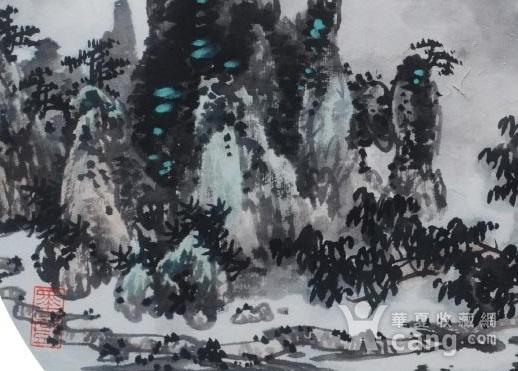 著名山水画家 陈武 小品山水图2