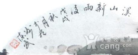 著名山水画家 陈武 小品山水溪山新雨后图2