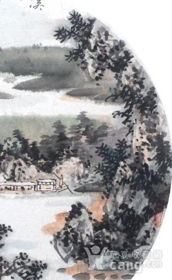 著名山水画家 陈武 小品山水溪山新雨后图3
