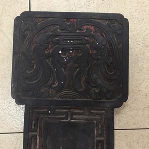 清代老木板