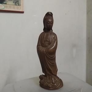 黄杨木观音人物