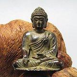 唐实心紫铜打造 佛祖 摆件包浆厚重