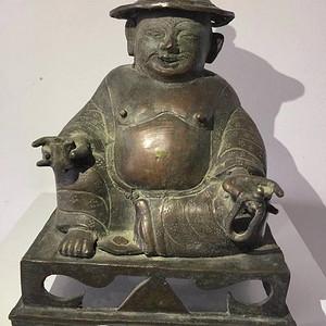 清代铜雕罗汉