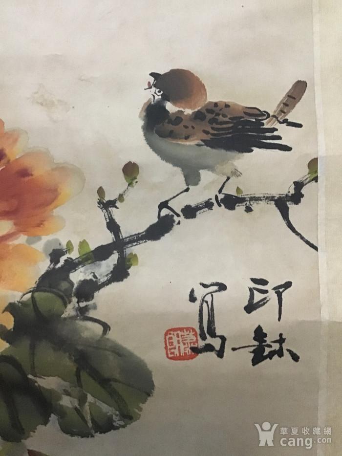 回流民国画家萧朗花卉作品图11