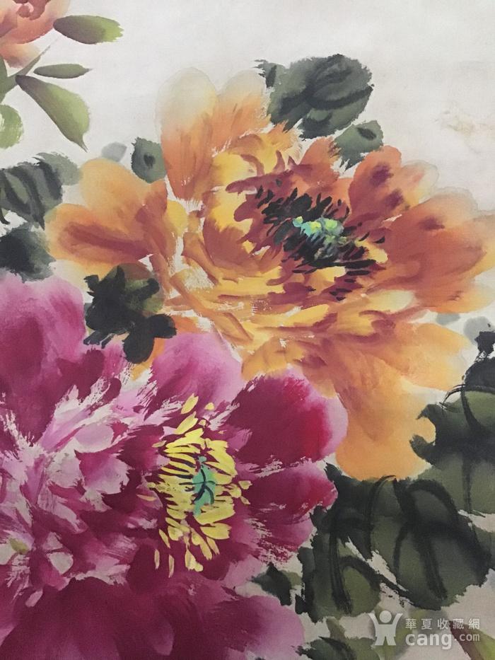 回流民国画家萧朗花卉作品图2