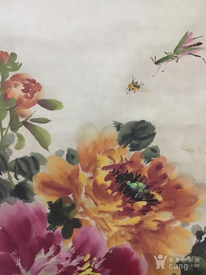 回流民国画家萧朗花卉作品图9