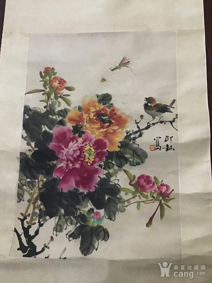 回流民国画家萧朗花卉作品图10