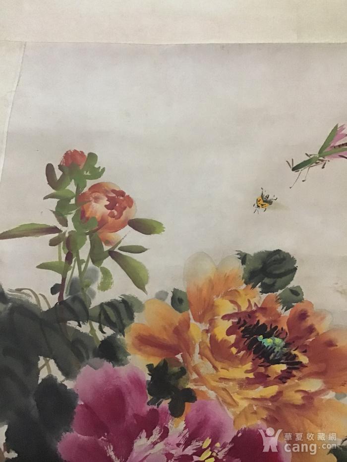 回流民国画家萧朗花卉作品图6