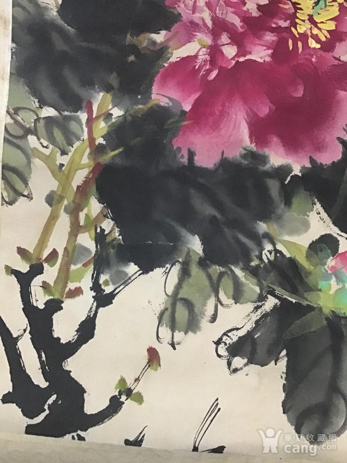 回流民国画家萧朗花卉作品图3