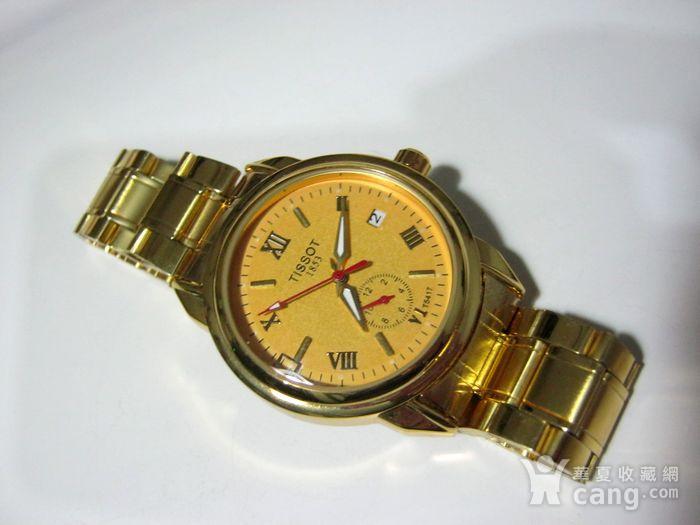 名款瑞士天梭1853全自动男士手表