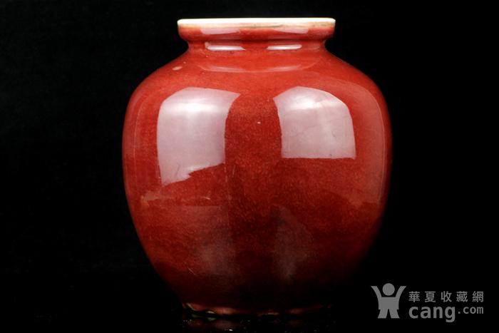 26清祭红釉石榴尊图2
