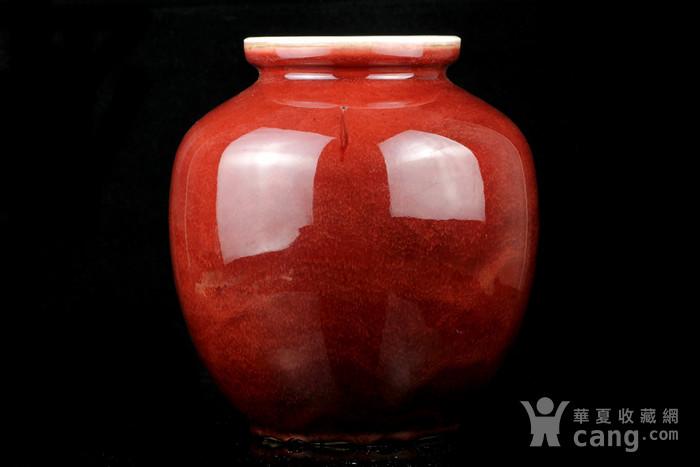 26清祭红釉石榴尊图3