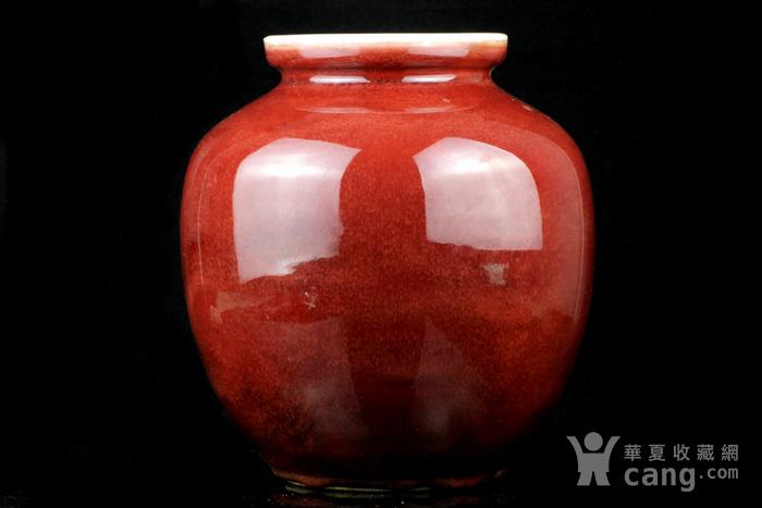 26清祭红釉石榴尊图4