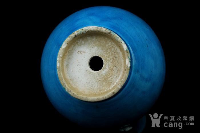 28清早期孔雀蓝釉葫芦瓶图5