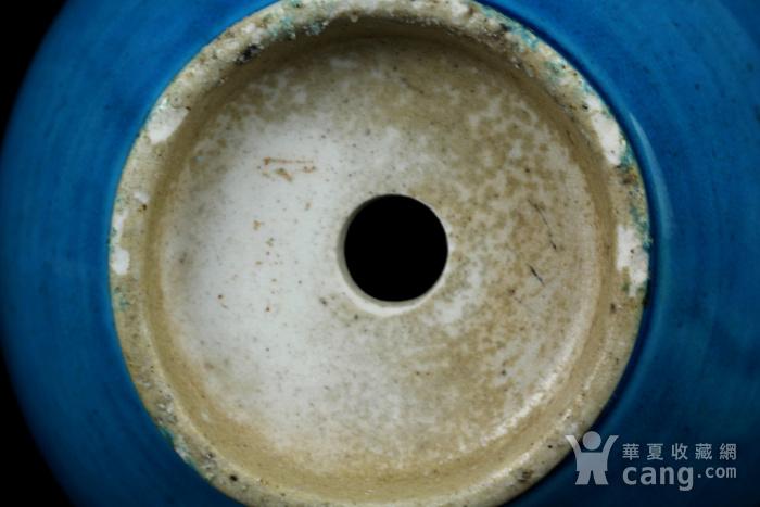 28清早期孔雀蓝釉葫芦瓶图6