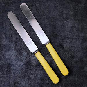 18世纪英国大号老餐刀2把