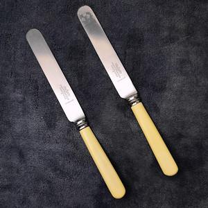 18世纪英国老餐刀2件套