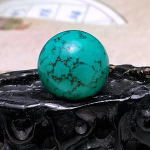欧洲回流9.5克20mm松石圆珠