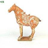 唐 红陶彩绘马