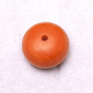 欧洲回流极品莫莫珊瑚10mm算盘珠 3