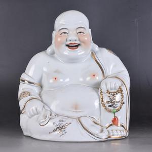 五六七 弥勒佛瓷像