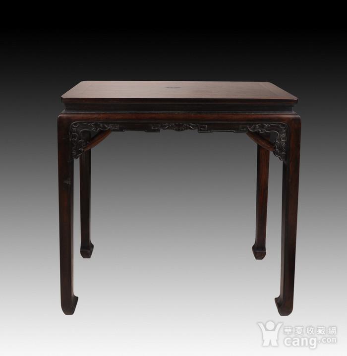 欧洲回流酸枝木书桌