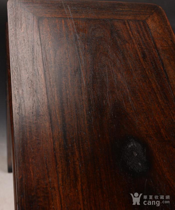 欧洲回流酸枝木书桌图5