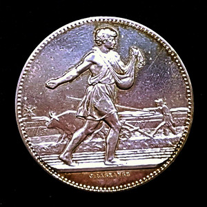 包老保真 1904法国拉格朗日纯银纪念银币