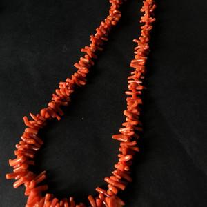 8030欧洲回流随形珊瑚项链