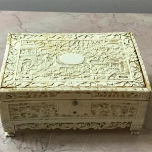 9021 民国十三行首饰盒