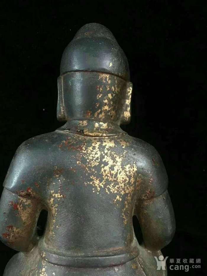 回流纯铜精工财神造像图7
