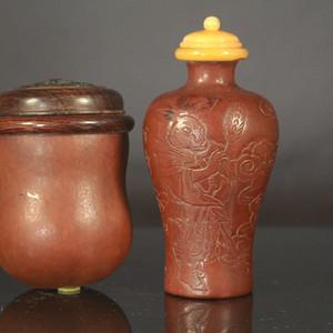 葫芦蟋蟀罐和烟壶两件