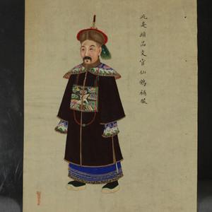 清代北京周培春画
