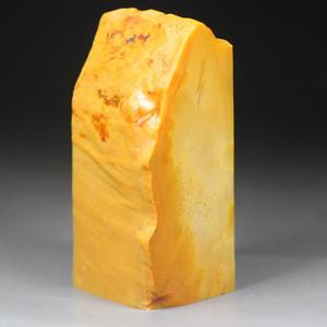 经典收藏 133克精品老挝田黄石《素章》