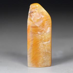 珍品收藏 珍品银裹金田黄石《素章》