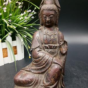 清铜鎏金佛像