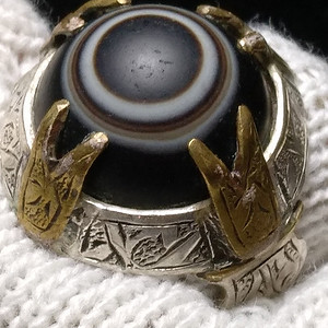 老天珠男神戒指