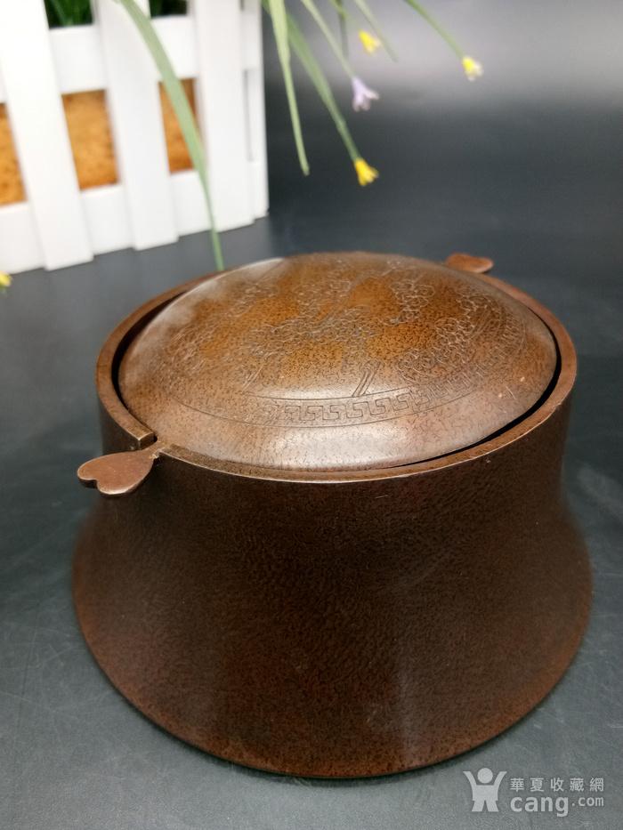 清铜烟灰缸图3