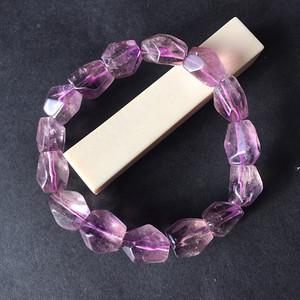 8047欧洲回流随形紫水晶手串