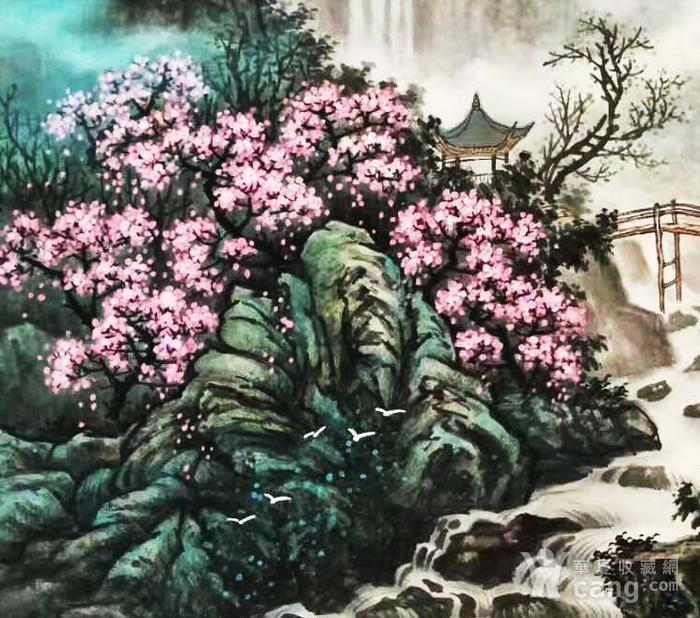 著名山水画家 叶培青 含笑春风图3