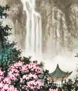 著名山水画家 叶培青 含笑春风图4