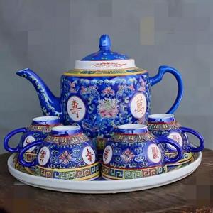 欧洲回流的一套创汇时期茶壶