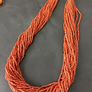 8066欧洲回流随形珊瑚项链