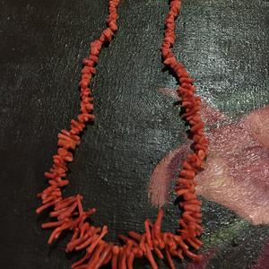 8074欧洲回流随形珊瑚项链