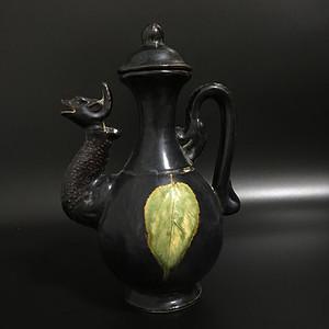 吉州窑酒壶