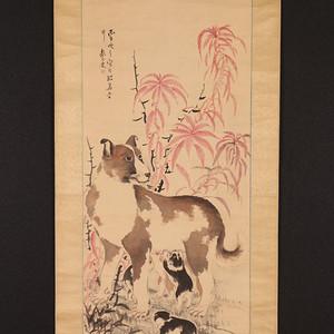 日本名家,椿椿山作品