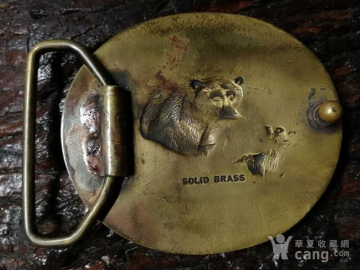 美国回流的一个精铜皮带扣图2