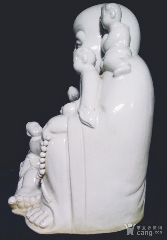美国回流的福建德化白瓷五子登科大佛图3