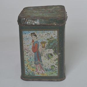 文革铁茶叶罐