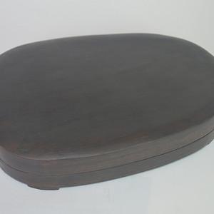 精品红木盒端砚